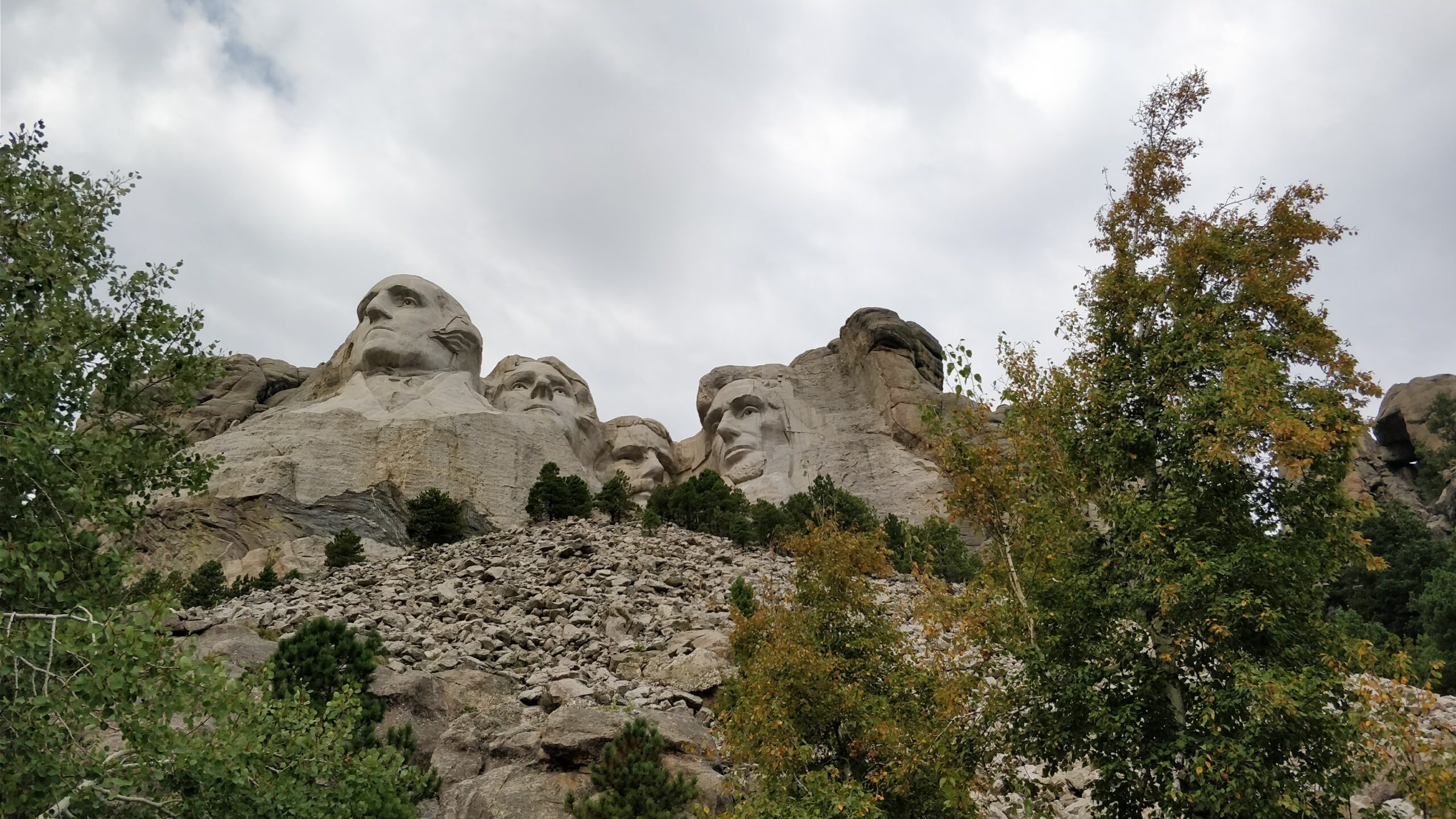 The Presidents at Mount Rushmore
