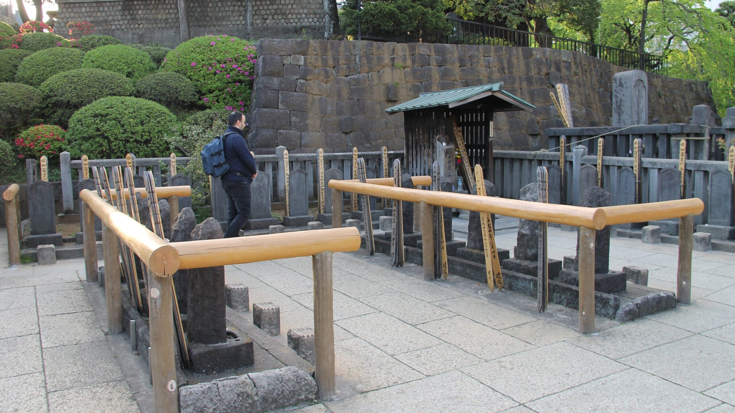 The ronin tombs